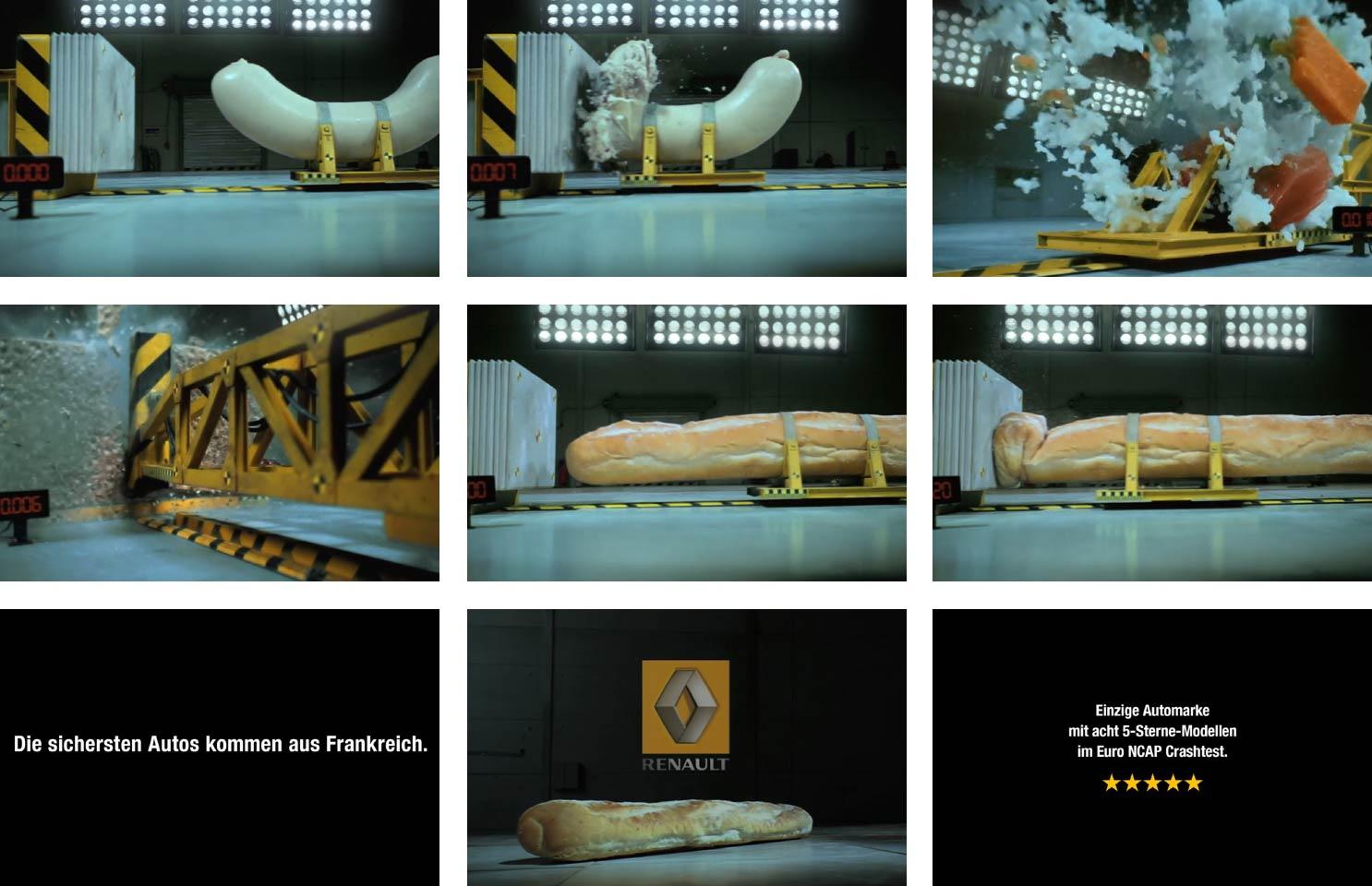 ルノーの巧みな「比較広告」
